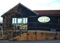 The Corn Craft Tea Room & Gift Shop at Bridge Farm Barns